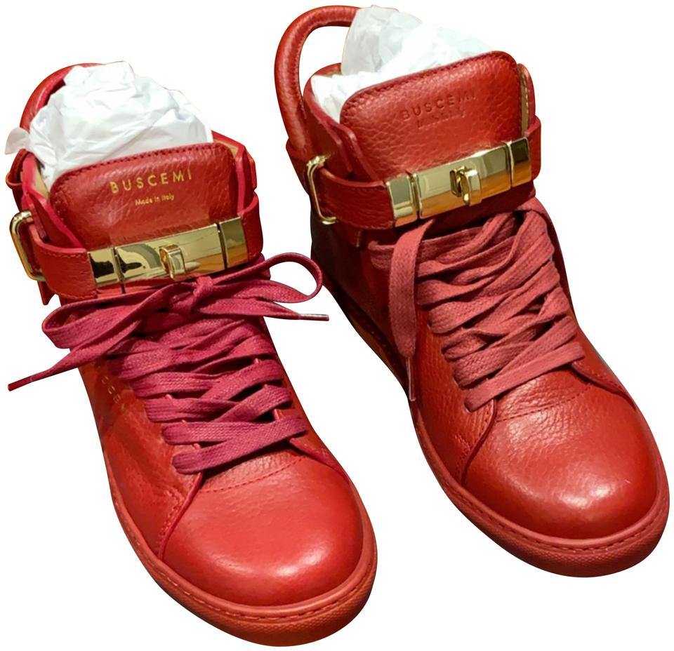 508ea12daa7 Buscemi Red Sneaker Sneakers Size US 7 Regular (M