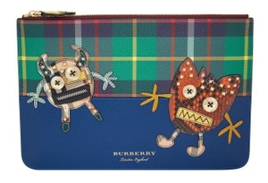 Burberry Blue multi Clutch