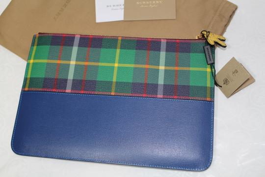 Burberry Blue multi Clutch Image 3