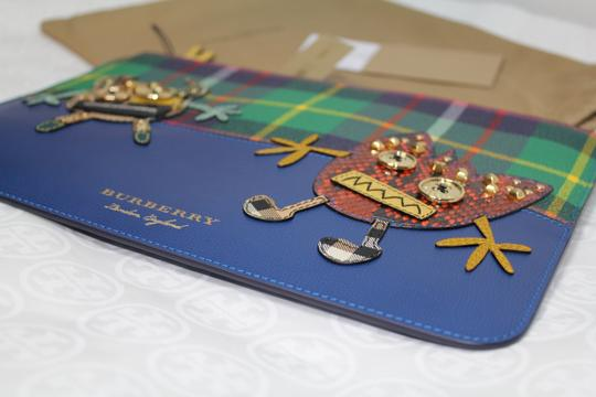 Burberry Blue multi Clutch Image 6