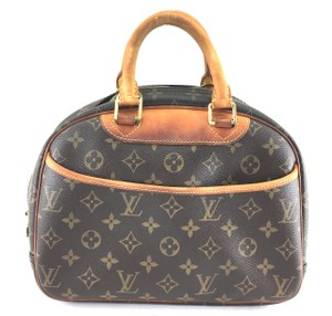 Louis Vuitton Lv Trouville Vanity Tote Satchel in Monogram
