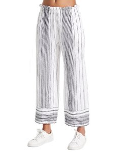 lemlem Relaxed Pants White