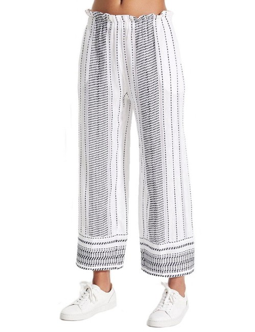 lemlem Relaxed Pants White Image 0