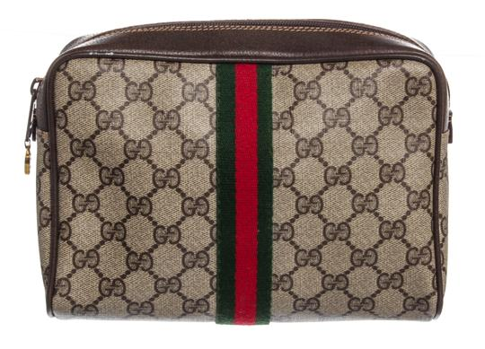 Preload https://img-static.tradesy.com/item/24553405/gucci-gg-leather-trim-vintage-handba-beige-brown-supreme-coated-canvas-clutch-0-0-540-540.jpg