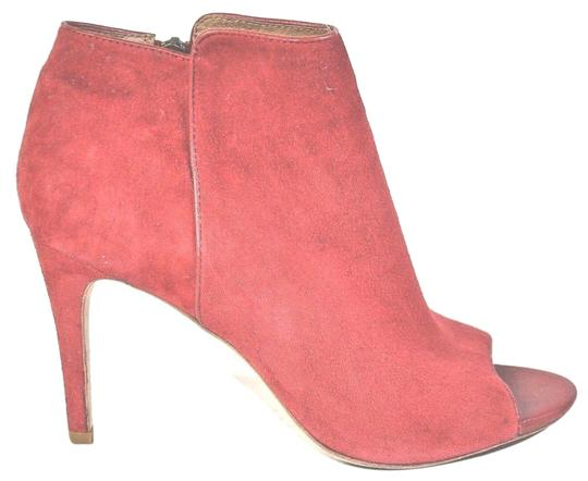 Preload https://img-static.tradesy.com/item/24553449/joie-red-suede-open-bootsbooties-size-eu-39-approx-us-9-regular-m-b-0-1-540-540.jpg
