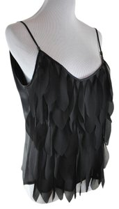 Anne Fontaine Sheer Top Black