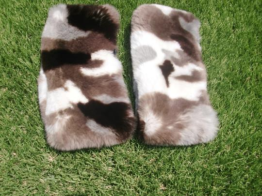 Other Buttersoft Sheared Rabbit Fur Cuffs To Accent a Coat