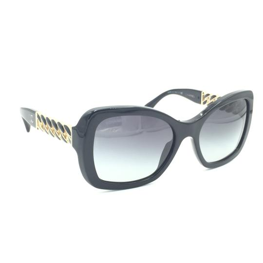 Preload https://img-static.tradesy.com/item/24553677/chanel-black-gold-squared-chain-gray-gradient-5305-622s6-sunglasses-0-0-540-540.jpg
