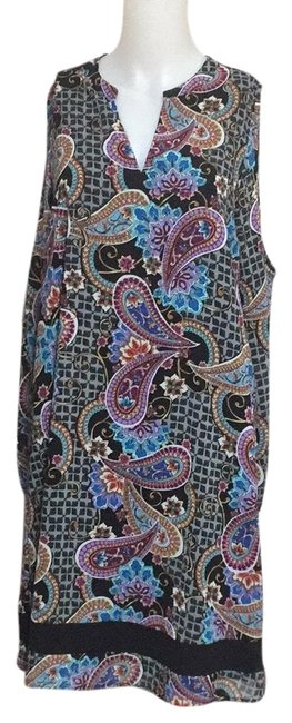 Nicole Miller Short Casual Dress Size 8 (M) Image 0