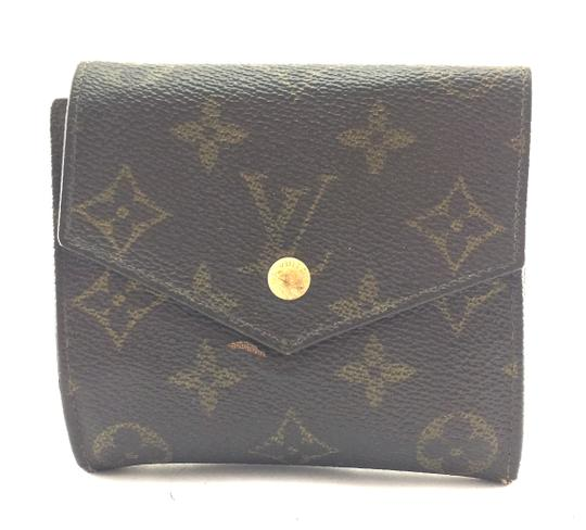 Preload https://img-static.tradesy.com/item/24553763/louis-vuitton-25638-monogram-square-double-sided-flap-trifold-coin-change-holder-wallet-0-1-540-540.jpg