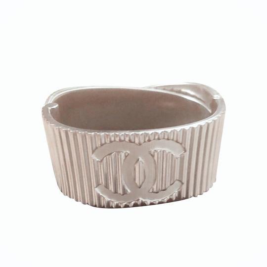 Preload https://img-static.tradesy.com/item/24553777/chanel-b16s-cuff-brushed-metal-italy-bracelet-0-4-540-540.jpg
