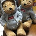 Supreme Extremely Rare Limited Edition Box Logo Hood Steiff Teddy Bear Image 6