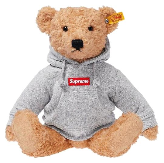 Preload https://img-static.tradesy.com/item/24553822/supreme-gray-extremely-rarely-limited-edition-box-logo-hood-steiff-teddy-bear-0-1-540-540.jpg