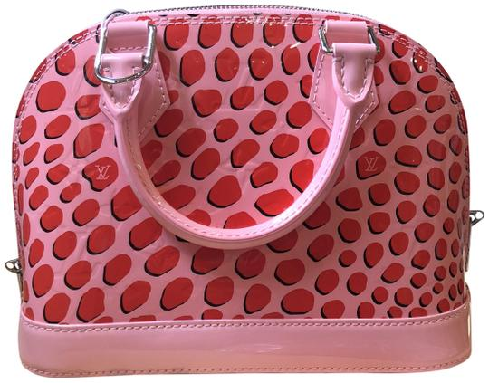 Preload https://img-static.tradesy.com/item/24553871/louis-vuitton-alma-new-bb-jungle-dot-vernis-2016-pink-leather-cross-body-bag-0-1-540-540.jpg