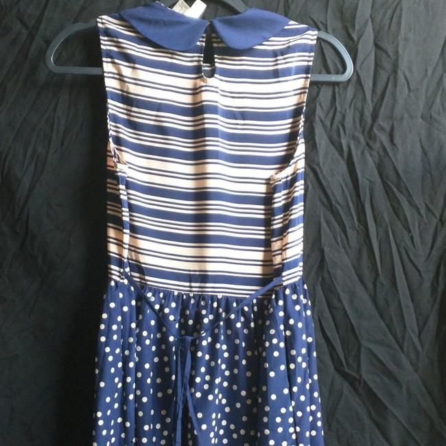 Forever 21 short dress Navy & Pink on Tradesy