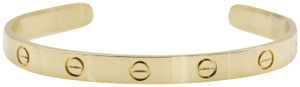 Cartier 18K Yellow Gold Love Cuff Bracelet