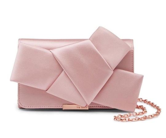 Preload https://img-static.tradesy.com/item/24553923/ted-baker-fefee-knot-convertible-evening-bow-pink-polyester-clutch-0-1-540-540.jpg