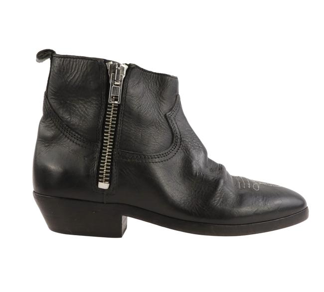 Golden Goose Deluxe Brand Black Leather Viand Boots/Booties Size EU 37 (Approx. US 7) Regular (M, B) Golden Goose Deluxe Brand Black Leather Viand Boots/Booties Size EU 37 (Approx. US 7) Regular (M, B) Image 1