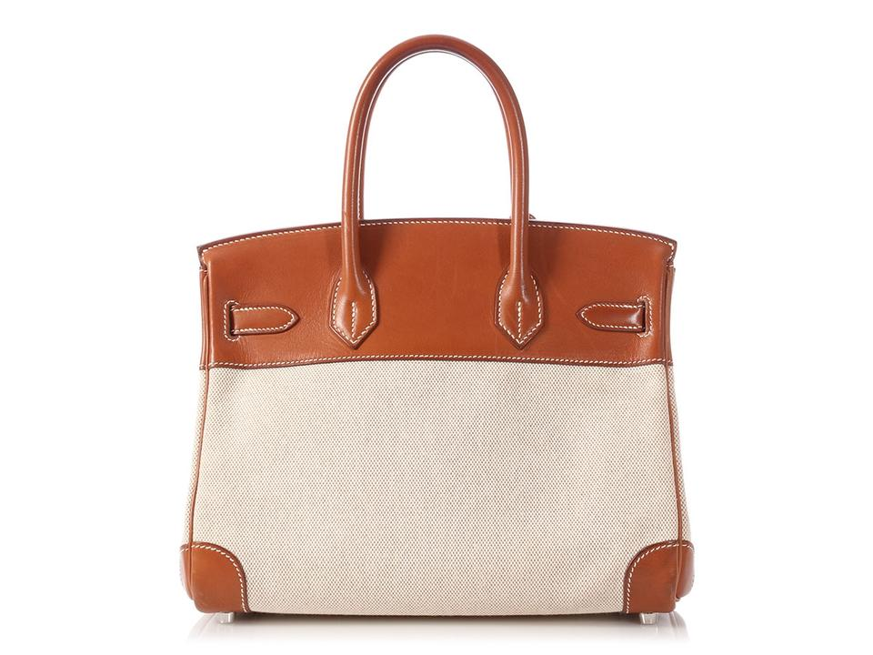 b8cfe5cde01f Hermès Birkin   sold On Aff   30 Barenia Natural Leather And Beige ...