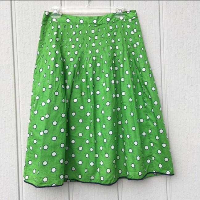 J.Crew Skirt Green & White