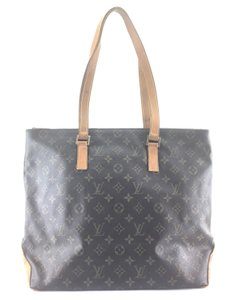 Louis Vuitton Cabas Mezzo Tote Shoulder Bag