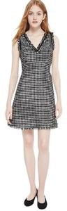 Kate Spade short dress black/cream on Tradesy