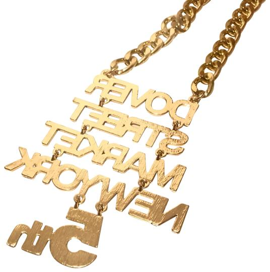 Dover Street Market Limited Edition Celebration 5Th Anniversary Date DSM NewYork Gold Chain Image 3