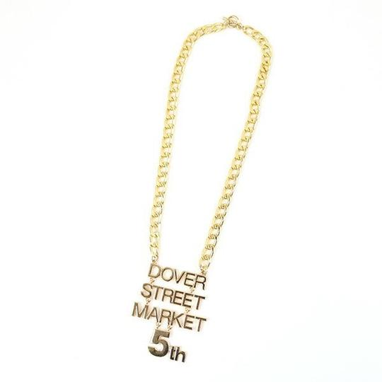 Dover Street Market Limited Edition Celebration 5Th Anniversary Date DSM NewYork Gold Chain Image 4