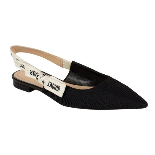 Preload https://img-static.tradesy.com/item/24554059/dior-black-j-adior-technical-canvas-slingback-ballet-flats-size-eu-36-approx-us-6-regular-m-b-0-0-540-540.jpg