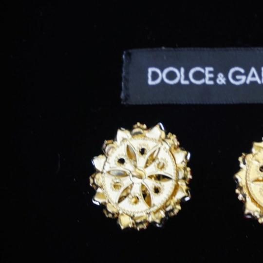 Dolce&Gabbana 100% Dolce & Gabbana buttons lot 3 red Crystals Large 1,2 inch