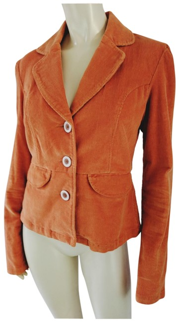 Preload https://img-static.tradesy.com/item/24554149/tulle-orange-anthropologie-cotton-spandex-stretch-corduroy-blazer-size-8-m-0-1-650-650.jpg