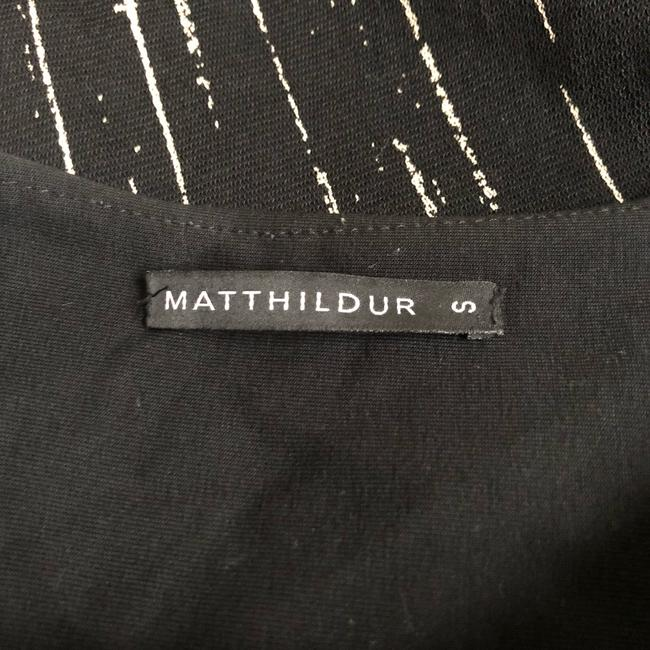 Matthildur Top black and cream