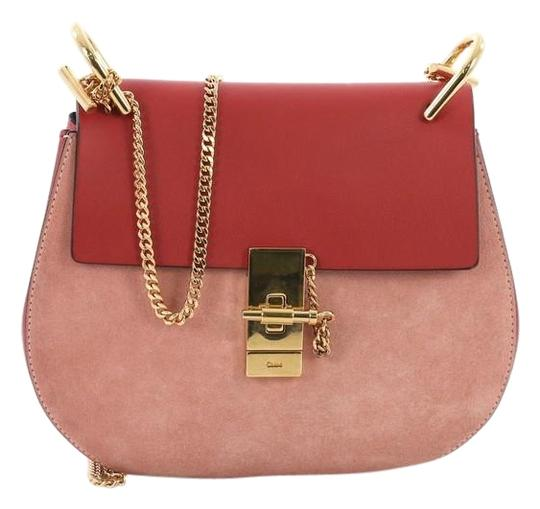 Preload https://img-static.tradesy.com/item/24554254/chloe-drew-and-suede-small-red-leather-cross-body-bag-0-1-540-540.jpg