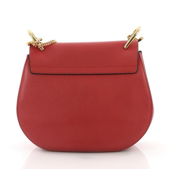 Chloé Leather Suede Cross Body Bag