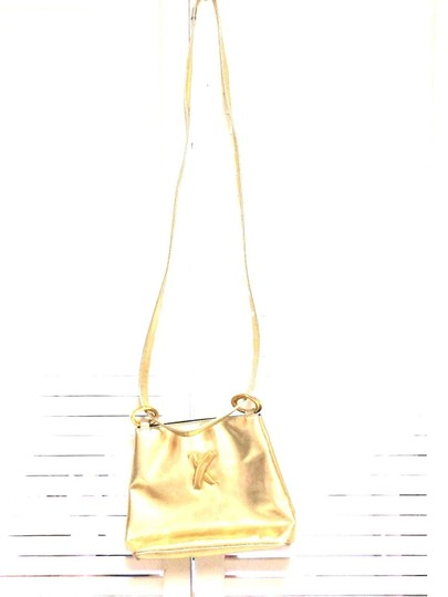 Paloma Picasso Gold Messenger Bag Image 1