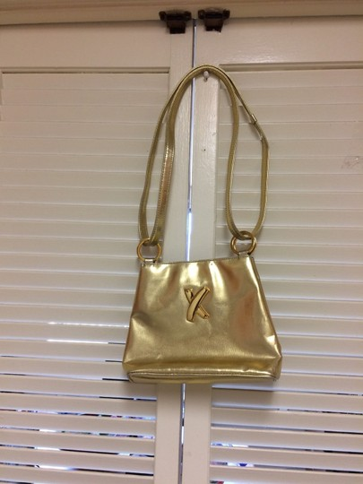 Paloma Picasso Gold Messenger Bag Image 3