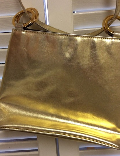 Paloma Picasso Gold Messenger Bag Image 8