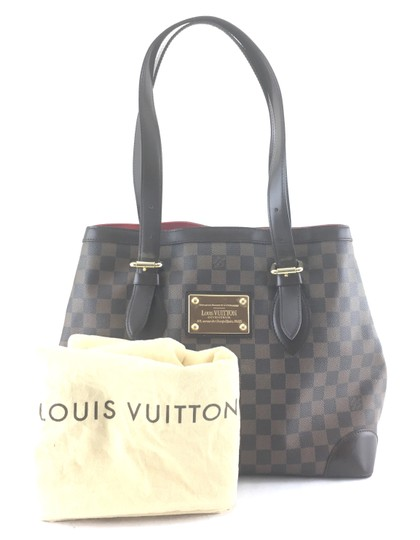 Louis Vuitton Lv Hampstead Mm Top Handle Shoulder Bag