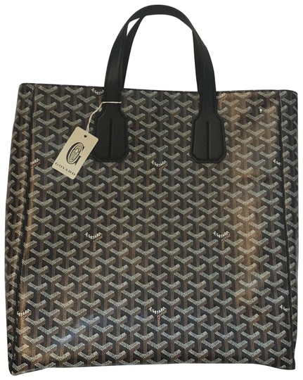 Preload https://img-static.tradesy.com/item/24554309/goyard-voltaire-w-strap-black-coated-canvas-tote-0-1-540-540.jpg