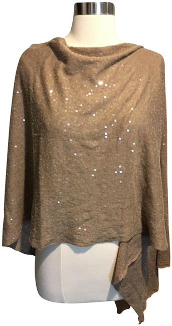 Preload https://img-static.tradesy.com/item/24554322/minnie-rose-brown-1131018-sequin-embellished-cotton-ponchocape-size-os-one-size-0-1-650-650.jpg