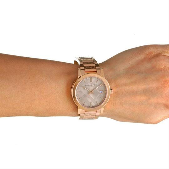 Burberry Burberry Watch Rose Gold Tone Dial Stainless Steel Watch BU9039 Image 1