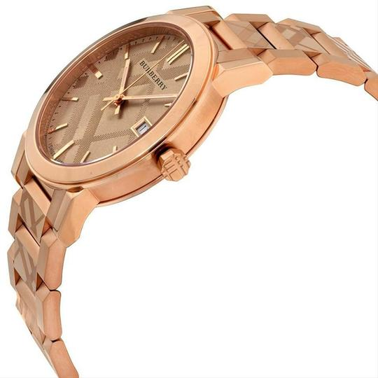 Burberry Burberry Watch Rose Gold Tone Dial Stainless Steel Watch BU9039 Image 3