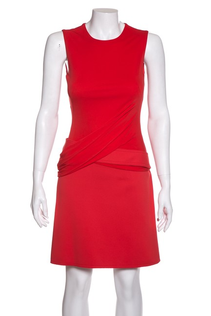 Preload https://img-static.tradesy.com/item/24554400/alexander-mcqueen-red-belted-short-casual-dress-size-2-xs-0-0-650-650.jpg