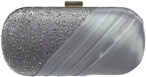 Crystal Collection Evening Evening Rhinestone Silver Clutch
