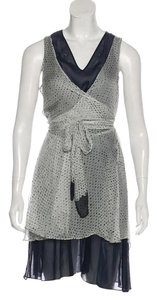 Proenza Schouler short dress Navy on Tradesy