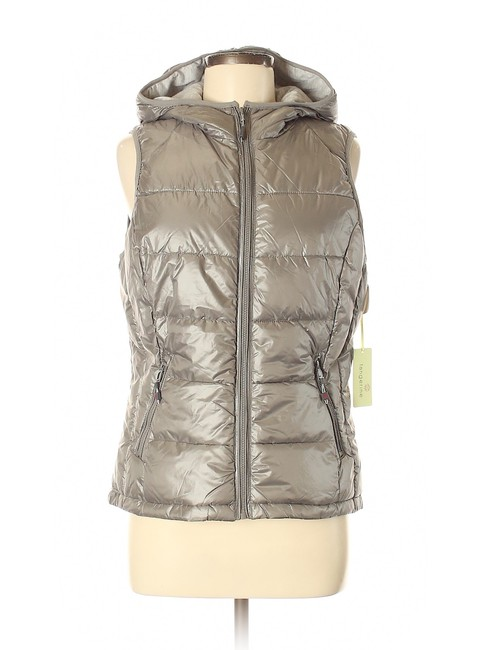 Tangerine NYC Packable Puffer Hooded Vest Image 0