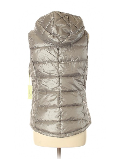 Tangerine NYC Packable Puffer Hooded Vest Image 1