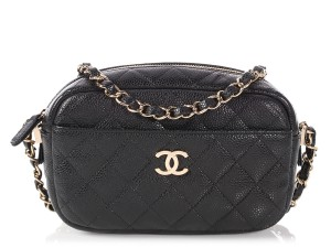 Chanel Ch.p1116.11 Quilted Gold Hardware Ghw 2018 Cross Body Bag