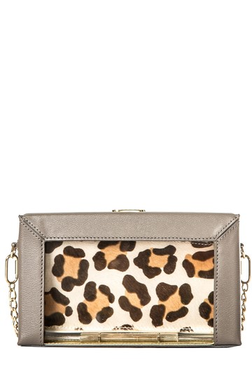 Preload https://img-static.tradesy.com/item/24554598/charlotte-olympia-taupe-and-lucite-pandora-grey-leather-clutch-0-0-540-540.jpg