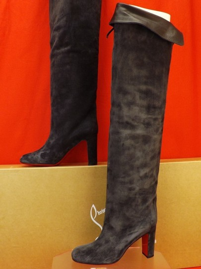 Christian Louboutin Grey Boots Image 3